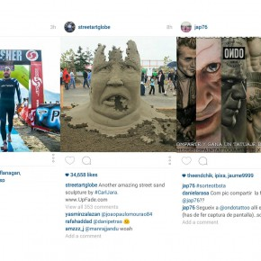 Instagram UX - Why not scroll horizontally?